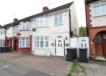 Thumbnail 3 bedroom end terrace house for sale in Chester Avenue, Leagrave, Luton