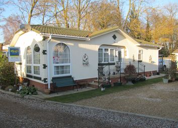Thumbnail 2 bedroom mobile/park home for sale in Blueleighs Park (Ref 5497), Great Blakenham, Ipswich, Suffolk