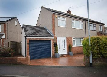 Thumbnail 4 bed semi-detached house for sale in Holmwood Close, Winterbourne, Bristol