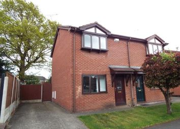 Thumbnail 2 bed semi-detached house for sale in Glascoed Way, Summerhill, Wrexham, Wrecsam