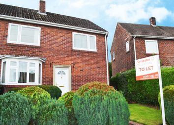 Thumbnail 3 bed semi-detached house to rent in Lime Grove, Ryton