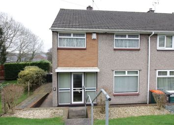 Thumbnail 3 bed end terrace house for sale in Tamar Close, Bettws, Newport