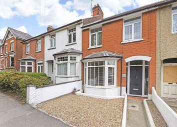 Thumbnail 3 bed terraced house for sale in Farnborough Road, Farnham