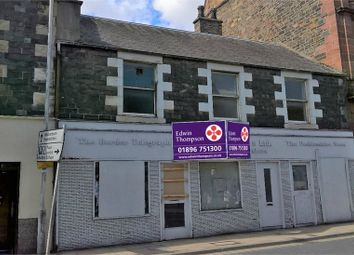 Thumbnail Terraced house for sale in Re-Development Opportunity, 113-117 High Street, Galashiels, Scottish Borders