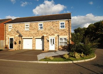 Thumbnail 3 bed semi-detached house for sale in Beaumont Court, Pegswood, Morpeth