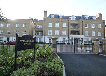 Thumbnail 2 bed flat to rent in Weybridge House, Queens Road, Weybridge, Surrey