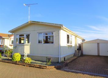 Thumbnail 2 bed mobile/park home for sale in Frensham Avenue, Poplars Court, Bognor Regis