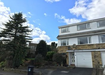 Thumbnail 3 bed semi-detached house to rent in Breck Lea, Sowerby Bridge