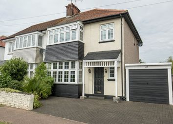 Thumbnail 3 bed semi-detached house for sale in Olive Avenue, Leigh-On-Sea