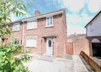 Thumbnail 3 bed semi-detached house for sale in Shields Road, Morpeth