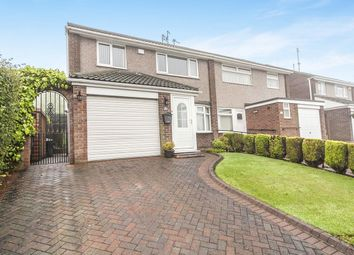 Thumbnail 3 bed semi-detached house for sale in Pinesway, Sunderland