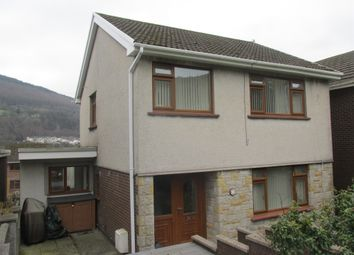 Thumbnail 3 bed detached house for sale in Hillside Close, Aberfan, Merthyr Tydfil