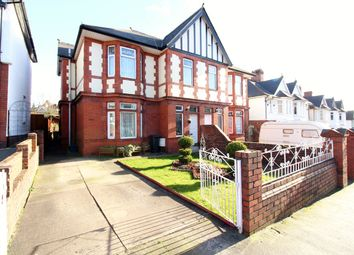 Thumbnail 4 bed semi-detached house for sale in St Julians Avenue, Newport