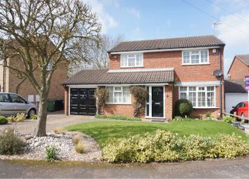 Thumbnail 4 bed detached house for sale in Edward Road, Fleckney