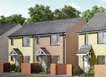 Thumbnail 3 bedroom semi-detached house for sale in Coombe Lane, Tamerton Foliot, Plymouth