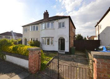 Thumbnail 3 bed semi-detached house to rent in Cambridge Road, Bromborough, Wirral
