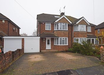 Thumbnail 4 bed semi-detached house for sale in Taverners Road, Rainham