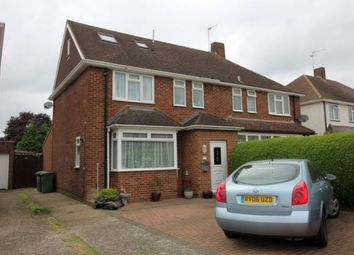 Thumbnail 4 bed semi-detached house for sale in Hogarth Avenue, Ashford