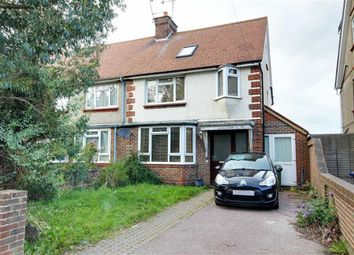 Thumbnail 3 bed end terrace house for sale in Marlowe Road, Broadwater, West Sussex