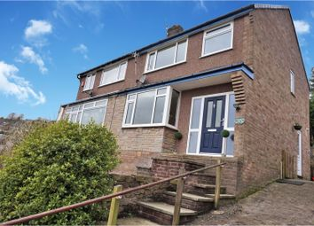 Thumbnail 3 bed semi-detached house for sale in Parkland Avenue, New Mills