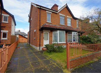 Thumbnail 3 bed semi-detached house for sale in Holland Crescent, Belfast