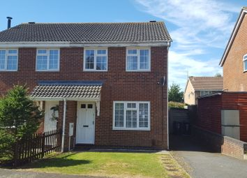 Thumbnail 3 bedroom semi-detached house to rent in Glamis Close, Rushden