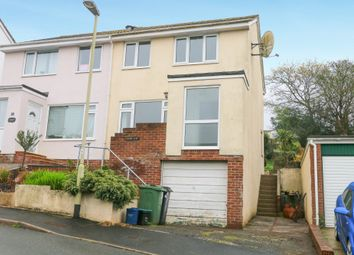 Thumbnail 3 bedroom semi-detached house for sale in Grenville Avenue, Teignmouth