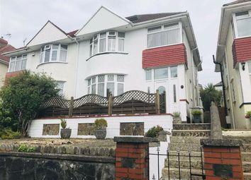 Thumbnail 4 bedroom semi-detached house for sale in Lon Ger Y Coed, Swansea