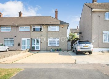 Thumbnail 3 bed semi-detached house for sale in Newbury Gardens, Romford