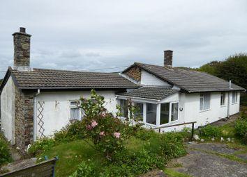 Thumbnail 3 bed detached bungalow for sale in Mount Pleasant, Boscastle
