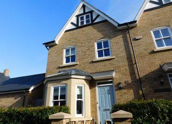 Thumbnail 4 bedroom town house for sale in Brunel Walk, Fairfield Park, Stotfold, Herts