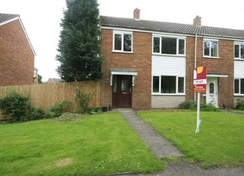 Thumbnail 3 bedroom end terrace house to rent in Brewers Terrace, Pelsall, Walsall, West Midlands