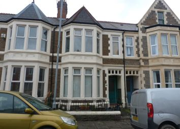 Thumbnail 2 bed flat to rent in Cressy Road, Roath, Cardiff