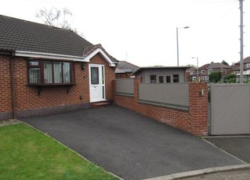 Thumbnail 2 bedroom semi-detached bungalow to rent in Chatsworth Close, Droylsden, Manchester
