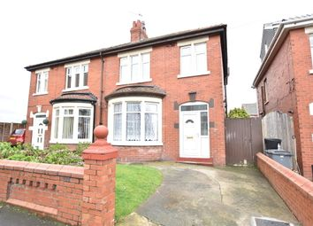 Thumbnail 3 bed semi-detached house for sale in Bennett Avenue, Blackpool