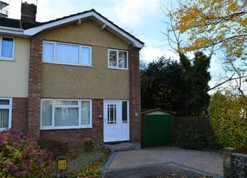 Thumbnail 3 bed semi-detached house for sale in Beaconsfield Way, Swansea
