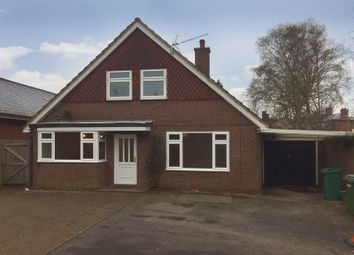 Thumbnail 3 bed detached house to rent in Stone Road, Eccleshall, Staffordshire