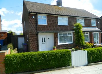 Thumbnail 3 bed semi-detached house to rent in Harwood Road, Garston, Liverpool
