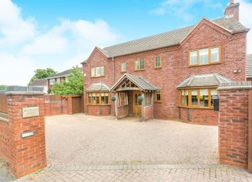 Thumbnail 4 bed detached house for sale in Martley Road, Lower Broadheath, Worcester