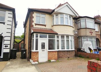 Thumbnail 3 bed end terrace house to rent in Rydal Crescent, Perivale, Greenford, Greater London