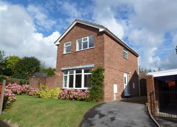 Thumbnail 3 bed detached house to rent in Mayfield Road, Burton-On-Trent