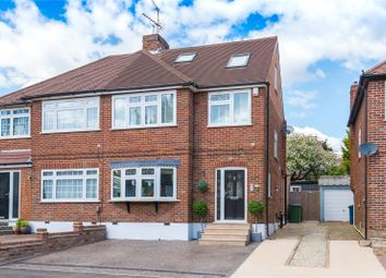 Thumbnail 4 bed semi-detached house for sale in Whitegate Gardens, Harrow
