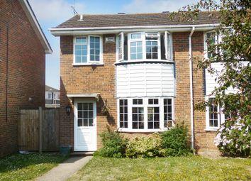 Thumbnail 3 bed semi-detached house for sale in Ferndale Walk, Angmering, Littlehampton