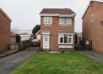 Thumbnail 3 bed detached house for sale in High Hoe Drive, Worksop