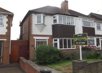 Thumbnail 3 bed semi-detached house to rent in Max Road, Quinton, Birmingham