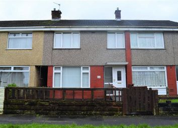 Thumbnail 3 bedroom terraced house for sale in Caeconna Road, Swansea