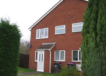 Thumbnail 1 bed terraced house to rent in Mercia Drive, Leegomery, Telford