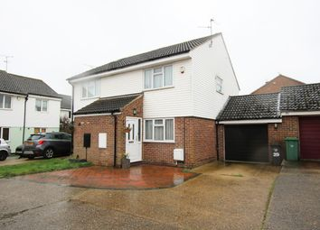 Thumbnail 2 bed semi-detached house for sale in Rayfield Close, Barnston, Dunmow