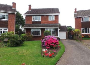 Thumbnail 4 bed detached house for sale in Corncrake Close, Sutton Coldfield