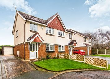 Thumbnail 3 bed semi-detached house for sale in Occleston Close, Sale